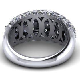 Kathryn King - Pave Ring -CAD  Render 2