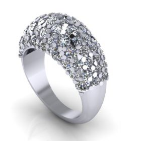 Pave Diamond set Ring