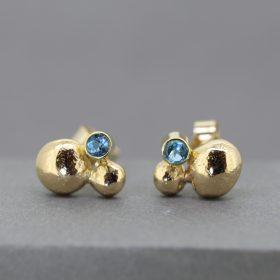 18ct Topaz Earrings