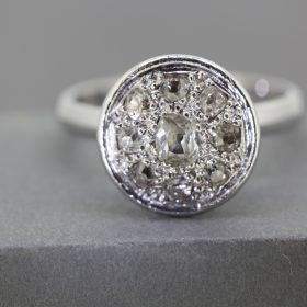 Pave set old cut Diamonds